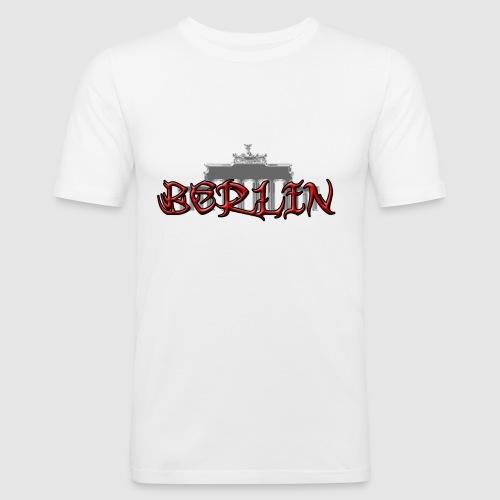 brandenburger tor - Männer Slim Fit T-Shirt