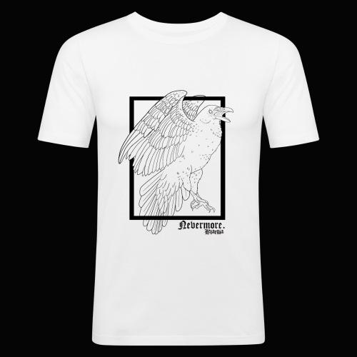Nevermore in Black - Camiseta ajustada hombre