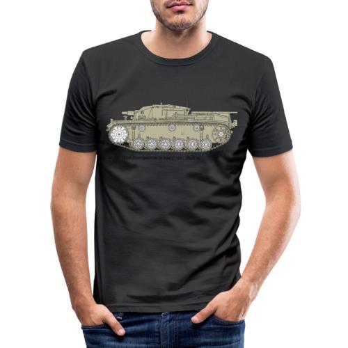 Stug III Ausf D. - Männer Slim Fit T-Shirt