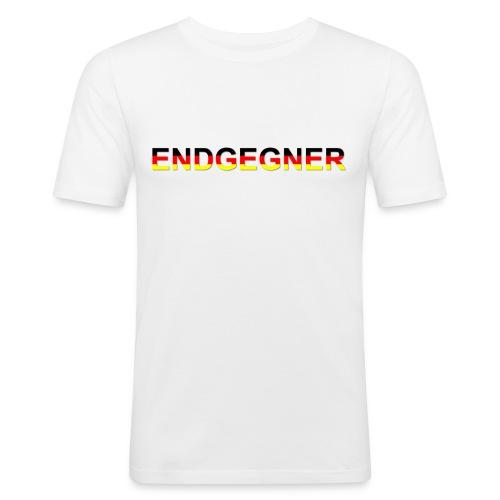 ENDGEGNER - Männer Slim Fit T-Shirt