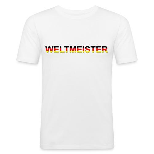 WELTMEISTER - Männer Slim Fit T-Shirt