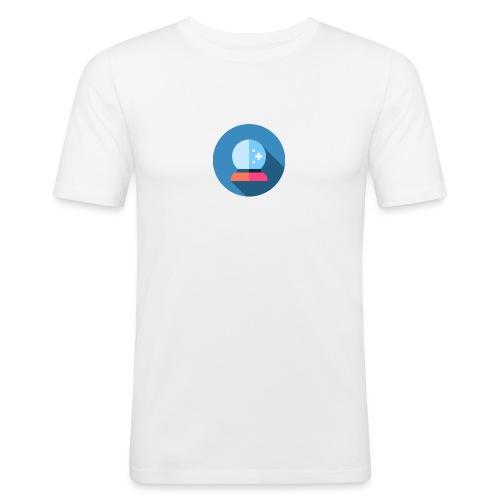 crystal ball 2 - Mannen slim fit T-shirt