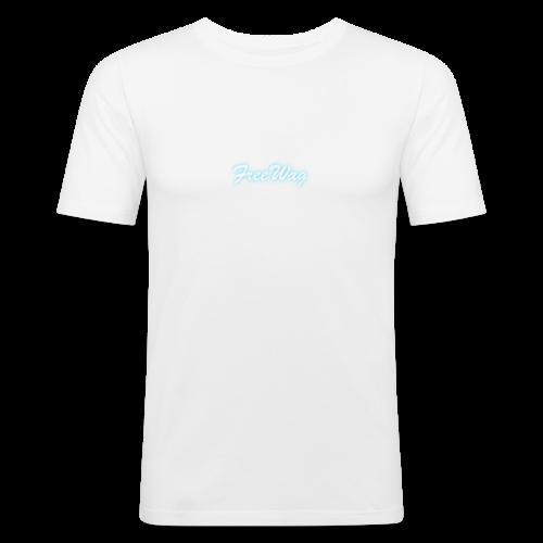 FreeWag Blanc - T-shirt près du corps Homme
