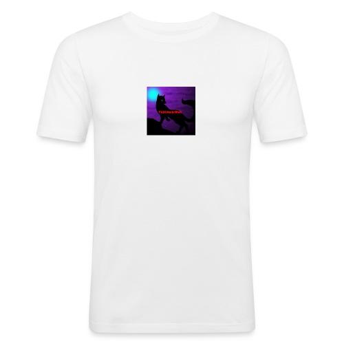 Th3G4m3rWolf - Men's Slim Fit T-Shirt