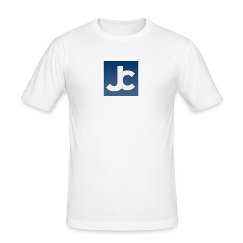 jc_logo - Men's Slim Fit T-Shirt