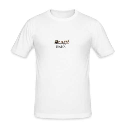 path3thf54dgtht55 - Mannen slim fit T-shirt