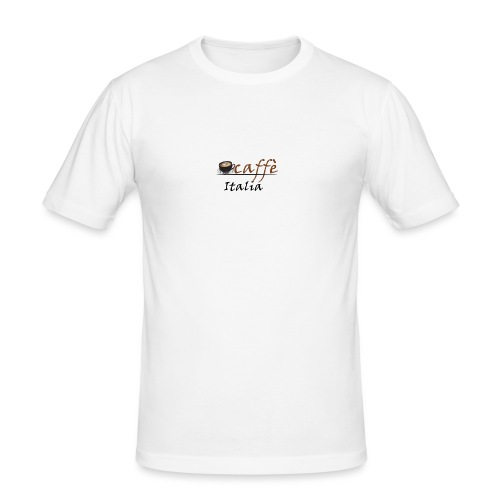 path3thf54dgtht55 - Mannen slim fit T-shirt