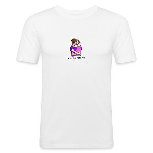 Wen er maar aan gozers - Mannen slim fit T-shirt