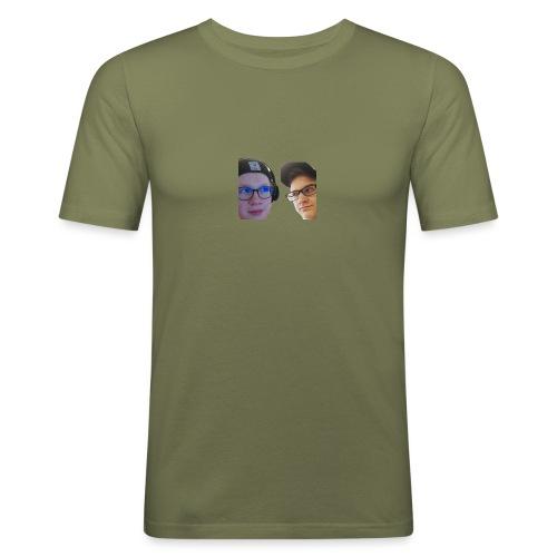Ramppa & Jamppa - Miesten tyköistuva t-paita
