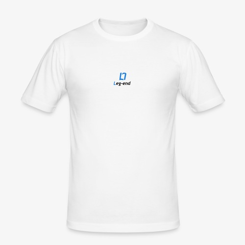 Leg end design - Men's Slim Fit T-Shirt