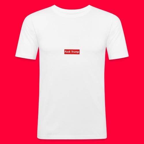 fuck trump - T-shirt près du corps Homme