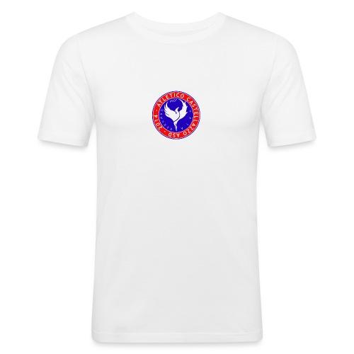Atletico Castellazzo Logo Ufficiale - Maglietta aderente da uomo