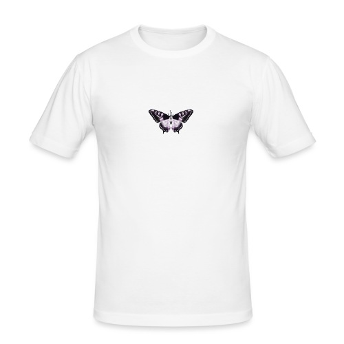 butterfly effect - Mannen slim fit T-shirt