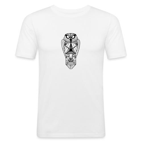 owl - Camiseta ajustada hombre