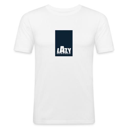 Lazy Beans - Men's Slim Fit T-Shirt