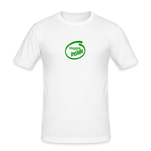 veggie-inside - Männer Slim Fit T-Shirt
