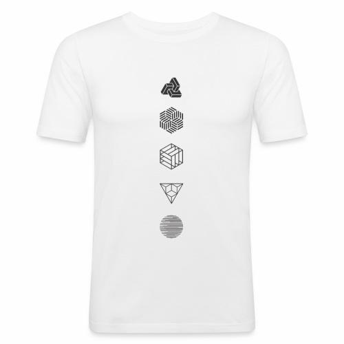 Mr. Project 0.1 - Mannen slim fit T-shirt