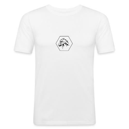 RPP Zwart - Mannen slim fit T-shirt