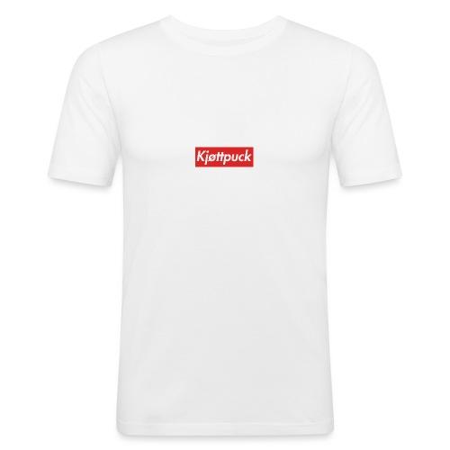 Kjøttpuck box-logo tee - Slim Fit T-skjorte for menn