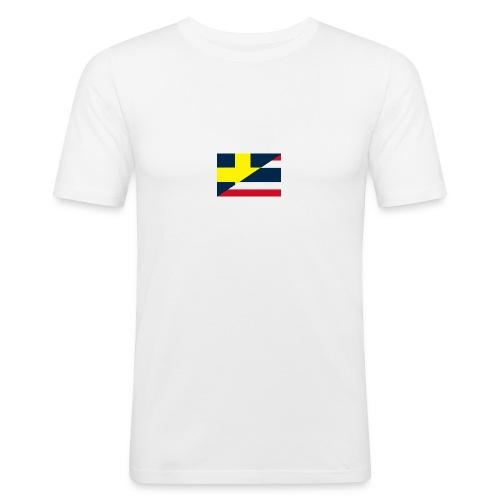 thailands flagga dddd png - Men's Slim Fit T-Shirt
