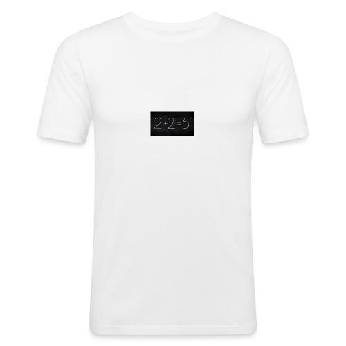2+2=5 math calcul - T-shirt près du corps Homme