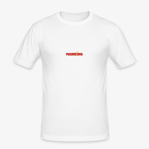 Mainking Knuffelhaas - Mannen slim fit T-shirt