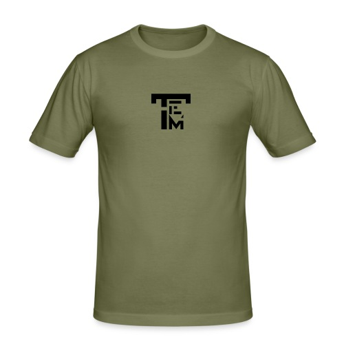 TEM BLACK - T-shirt près du corps Homme