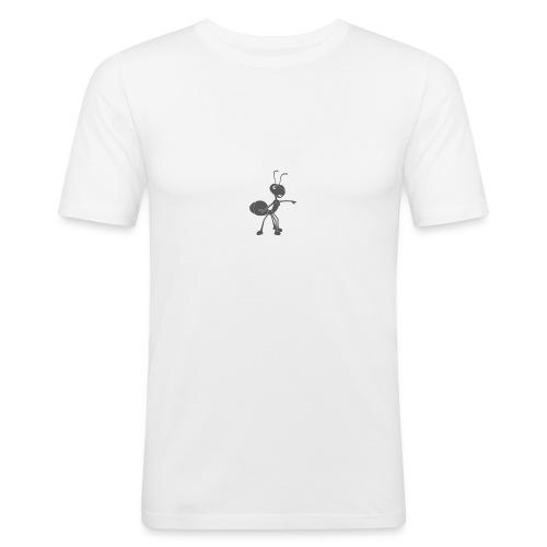 Mier wijzen - Mannen slim fit T-shirt