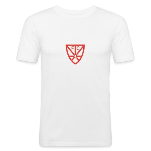FCRWO Logo rot ohne hintergrund png - Männer Slim Fit T-Shirt