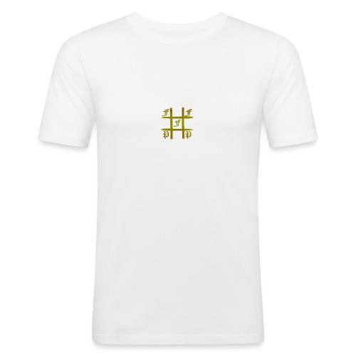 FFA Tic tac toe Gold - Slim Fit T-shirt herr