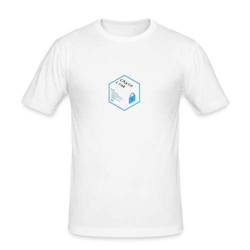 Cryptocurrency - ChainLink - Männer Slim Fit T-Shirt
