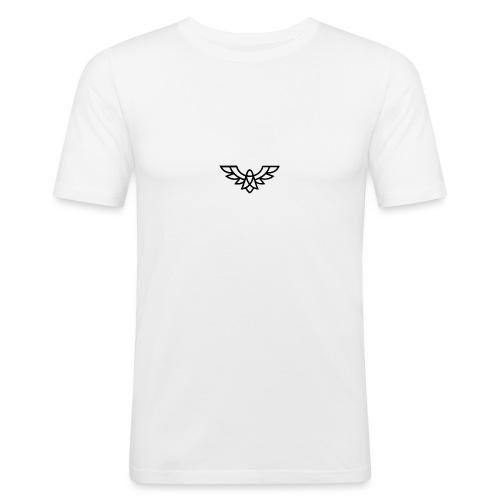 Clean Plain Logo - Men's Slim Fit T-Shirt