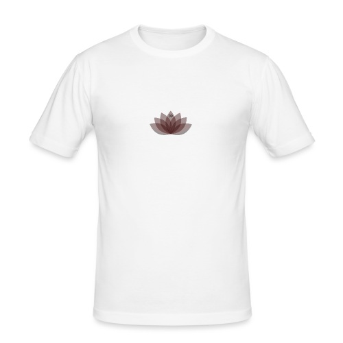 #DOEJEDING Lotus - Mannen slim fit T-shirt