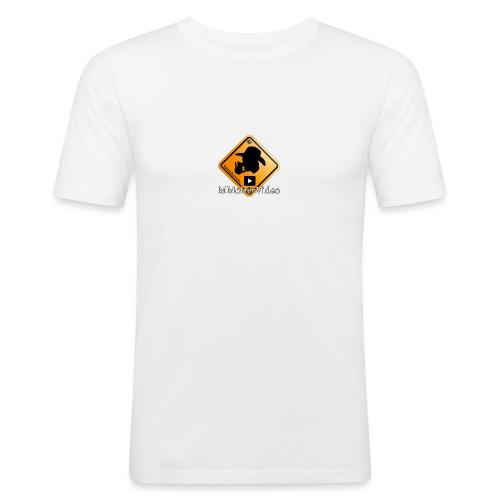 Logo MMolterVideo - Männer Slim Fit T-Shirt
