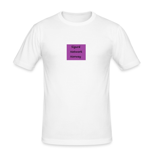 Sigurd Network Norway - Slim Fit T-skjorte for menn