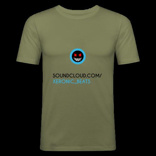 XERONIC LOGO - Men's Slim Fit T-Shirt
