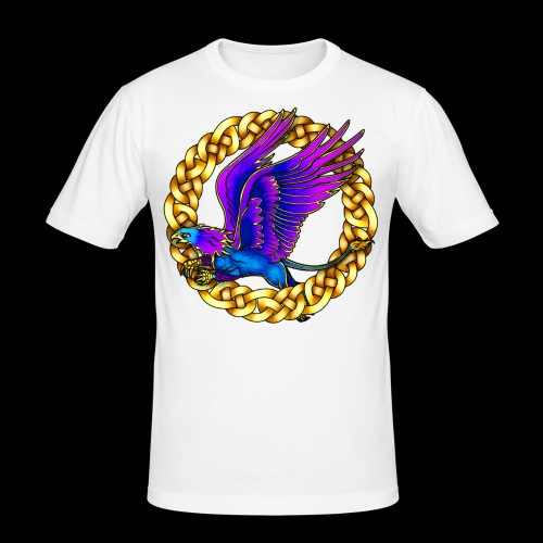Royal Gryphon - Men's Slim Fit T-Shirt