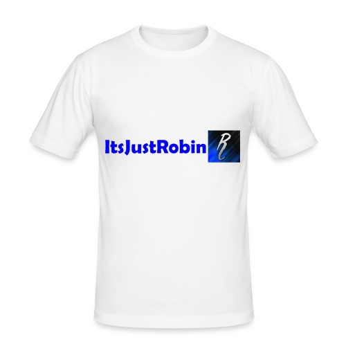 Eerste design. - Men's Slim Fit T-Shirt