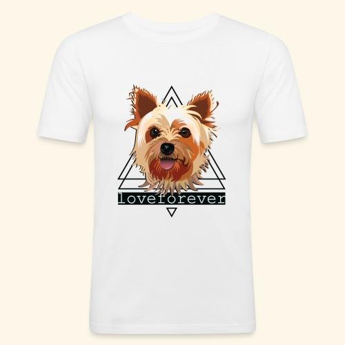 YORKIE LOVE FOREVER - Camiseta ajustada hombre