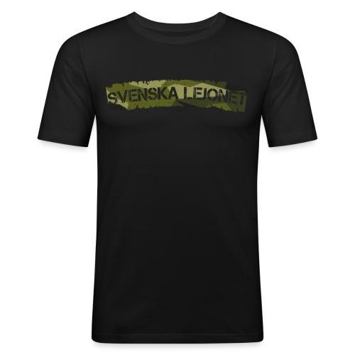 Svenska Lejonet M90 Patch - Slim Fit T-shirt herr