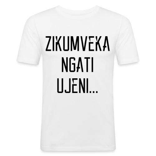 Zikumveka Ngati Black - Men's Slim Fit T-Shirt