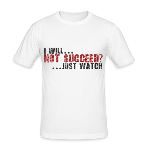 Just Watch! - Men's Slim Fit T-Shirt