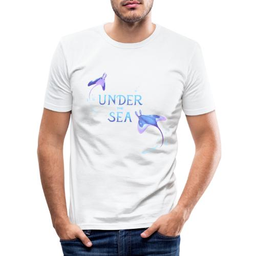 Under the Sea Mantas - T-shirt près du corps Homme