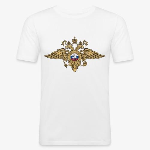Wappen MWD Gerb - Männer Slim Fit T-Shirt