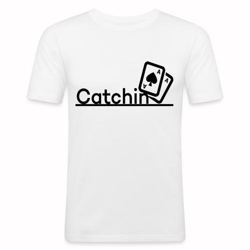 Catchin DoubleCards - Mannen slim fit T-shirt
