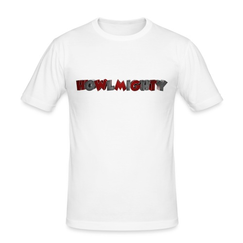 Howlmighty Red - Maglietta aderente da uomo