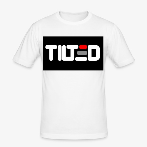 Tilted logo - Slim Fit T-shirt herr