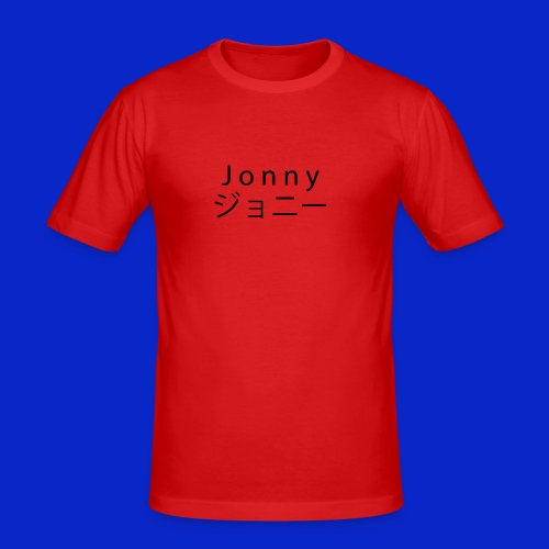J o n n y (black) - Men's Slim Fit T-Shirt