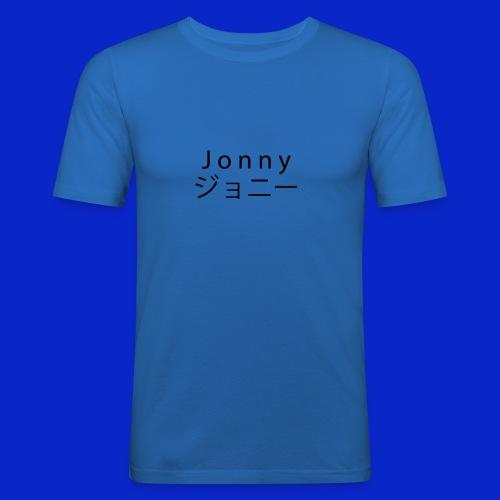 J o n n y (black) - Men's Slim Fit T-Shirt