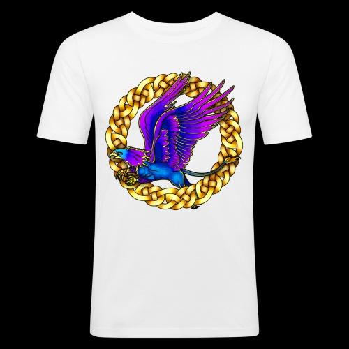 Royal Gryphon - Men's Slim Fit T-Shirt